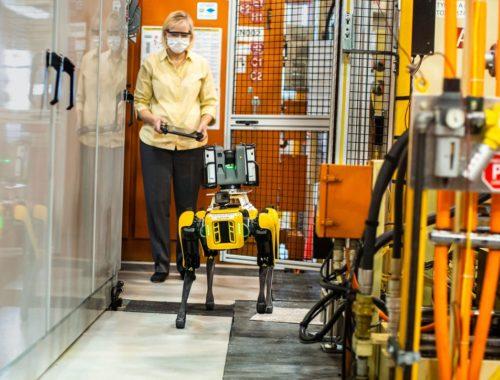 Η Ford πειραματίζεται με τετράποδα ρομπότ