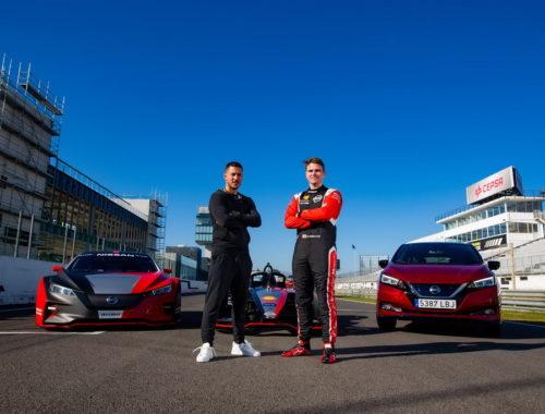 Ο Eden Hazard δοκιμάζει τη δύναμη της Nissan