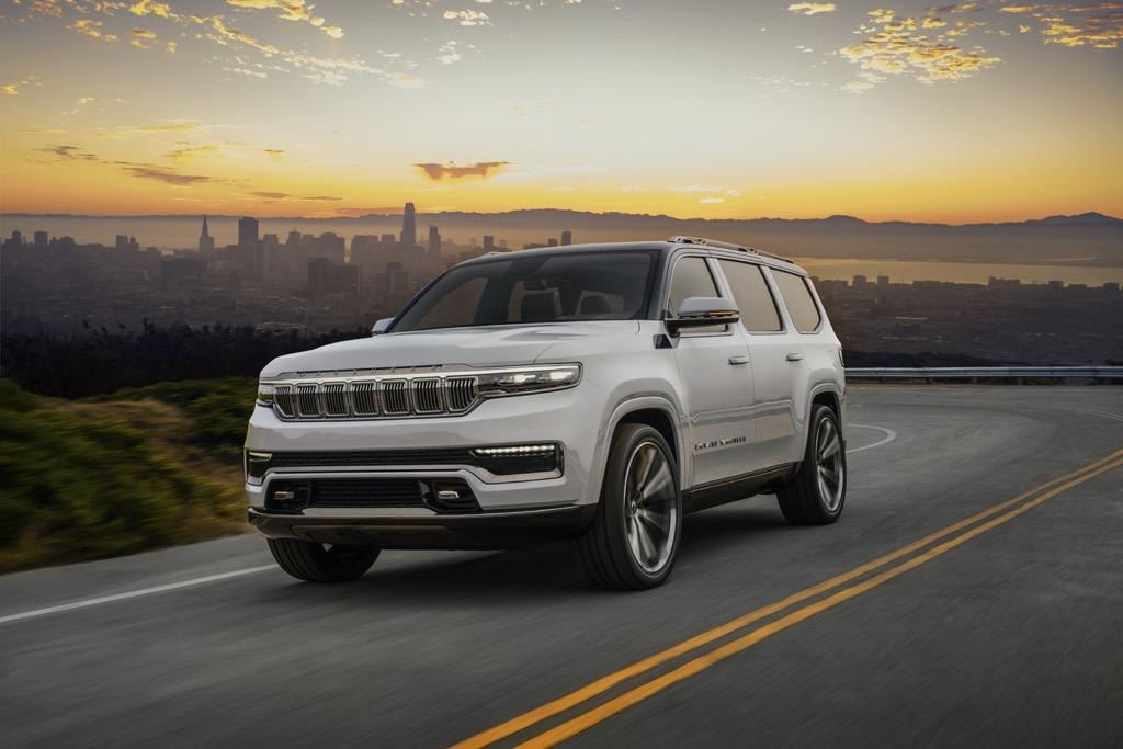 Νέο Jeep Grand Wagoneer Concept