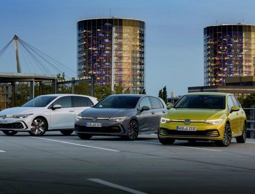 Η Volkswagen λανσάρει 5 εξηλεκτρισμένες εκδόσεις του Golf