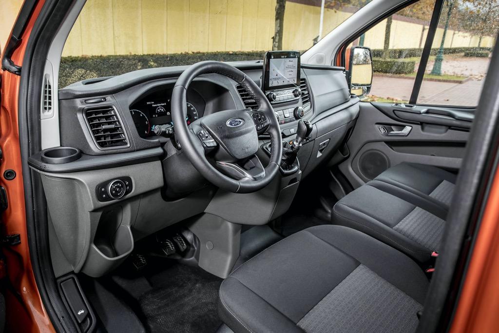 Ford Transit Custom interior look