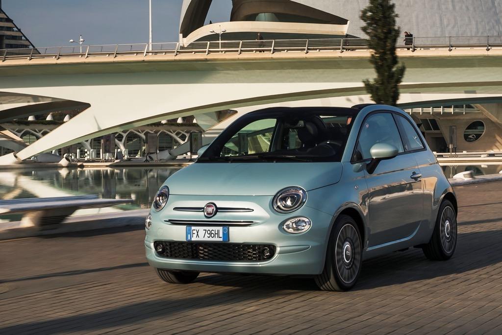 Το υβριδικό Fiat 500 σε τιμή έκπληξη