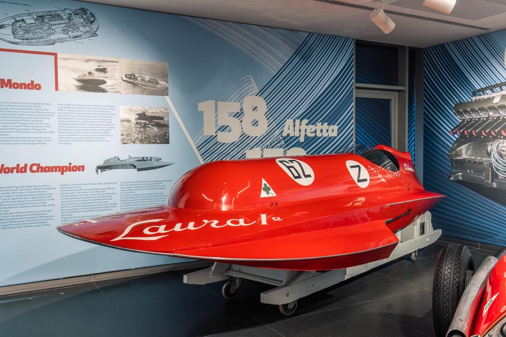 Τα σπάνια σκάφη θαλάσσης της Alfa Romeo