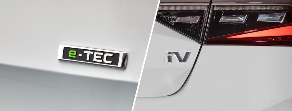 Skoda e-TEC and iV