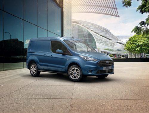 Η Ford αναβαθμίζει το Transit Connect