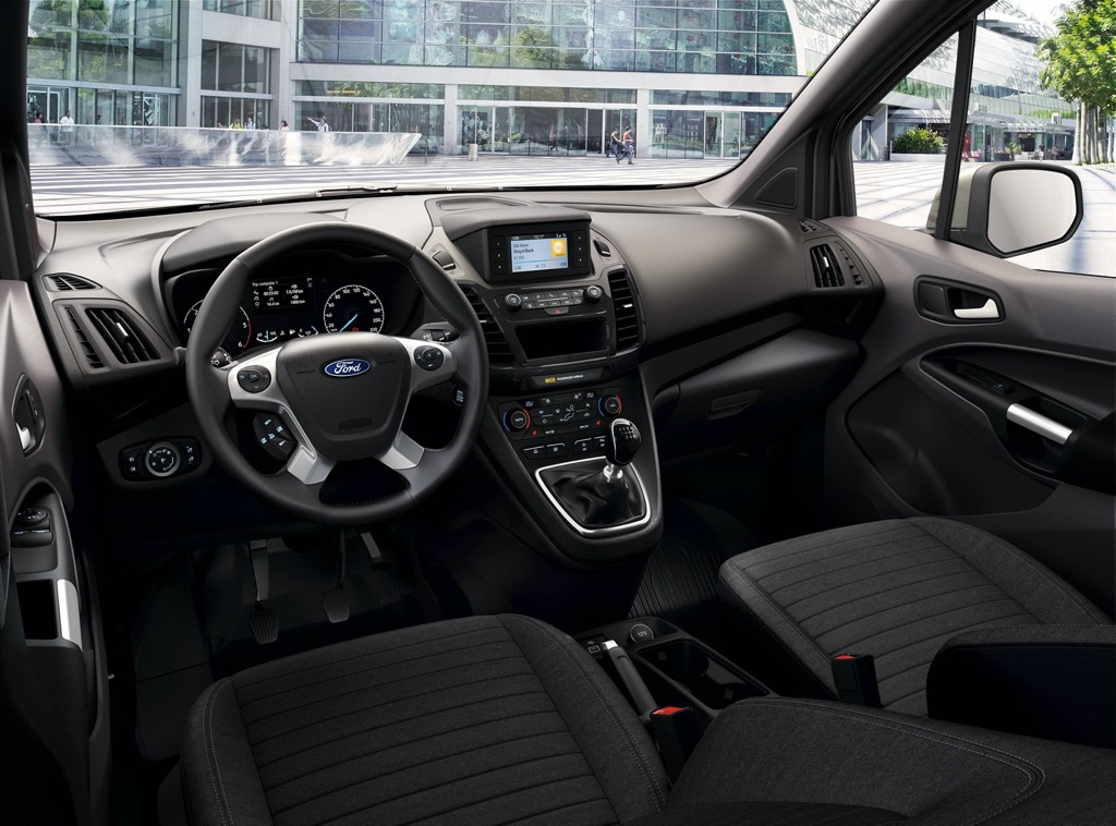 Ford Transit Connect interior look