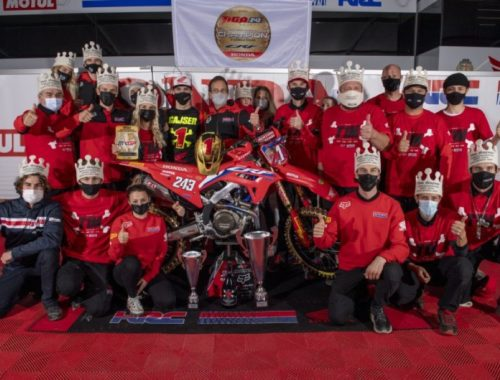 Ο Tim Gajser πρωταθλητής Motocross 2020