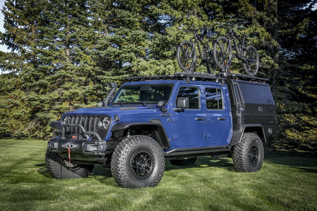 Jeep Gladiator Top Dog Concept