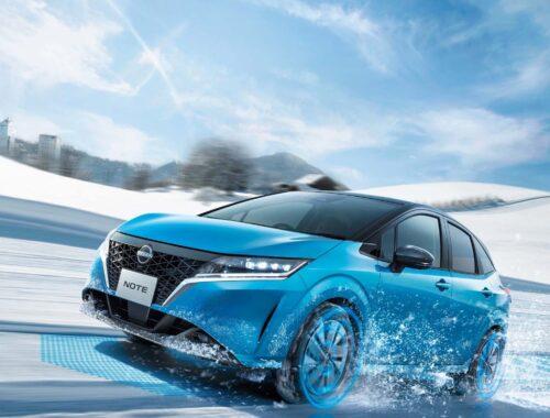 Η Nissan παρουσίασε το νέο NOTE e-POWER AWD