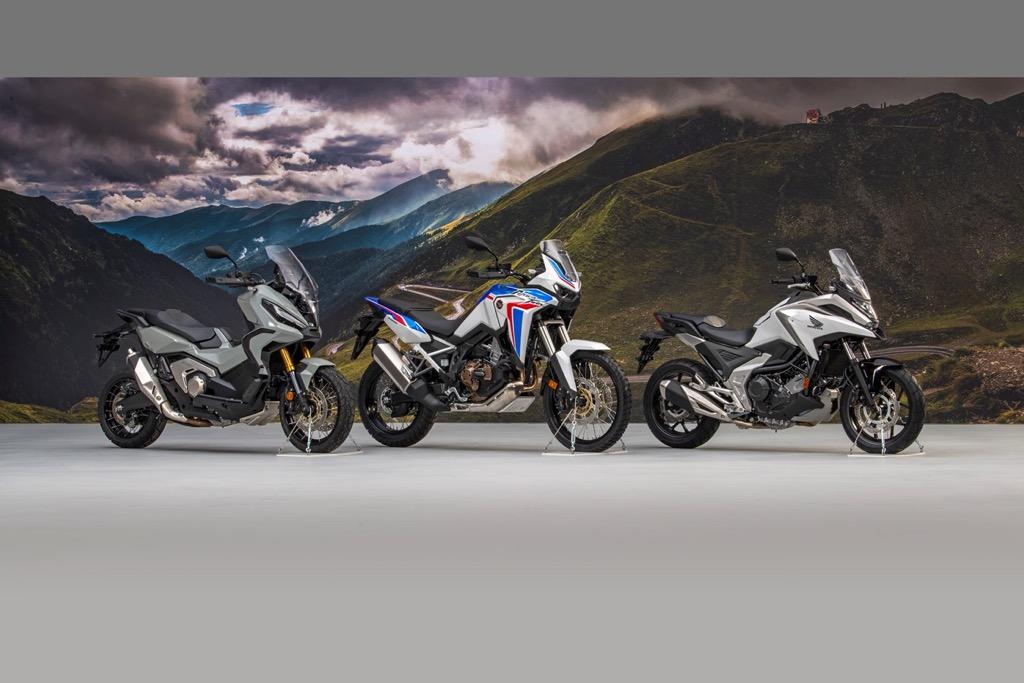 Η Honda παρουσιάζει επτά αναβαθμισμένα μοντέλα