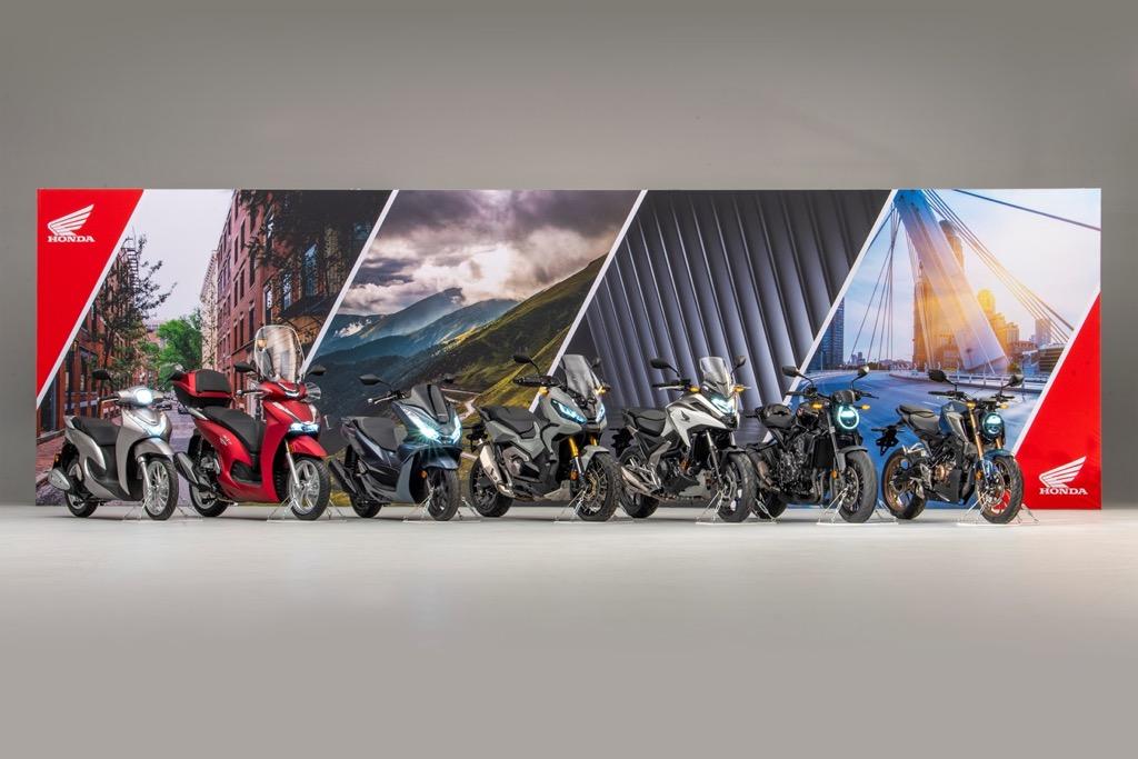 Honda Moto new models