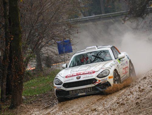 Το Abarth 124 rally και πάλι στην κορυφή