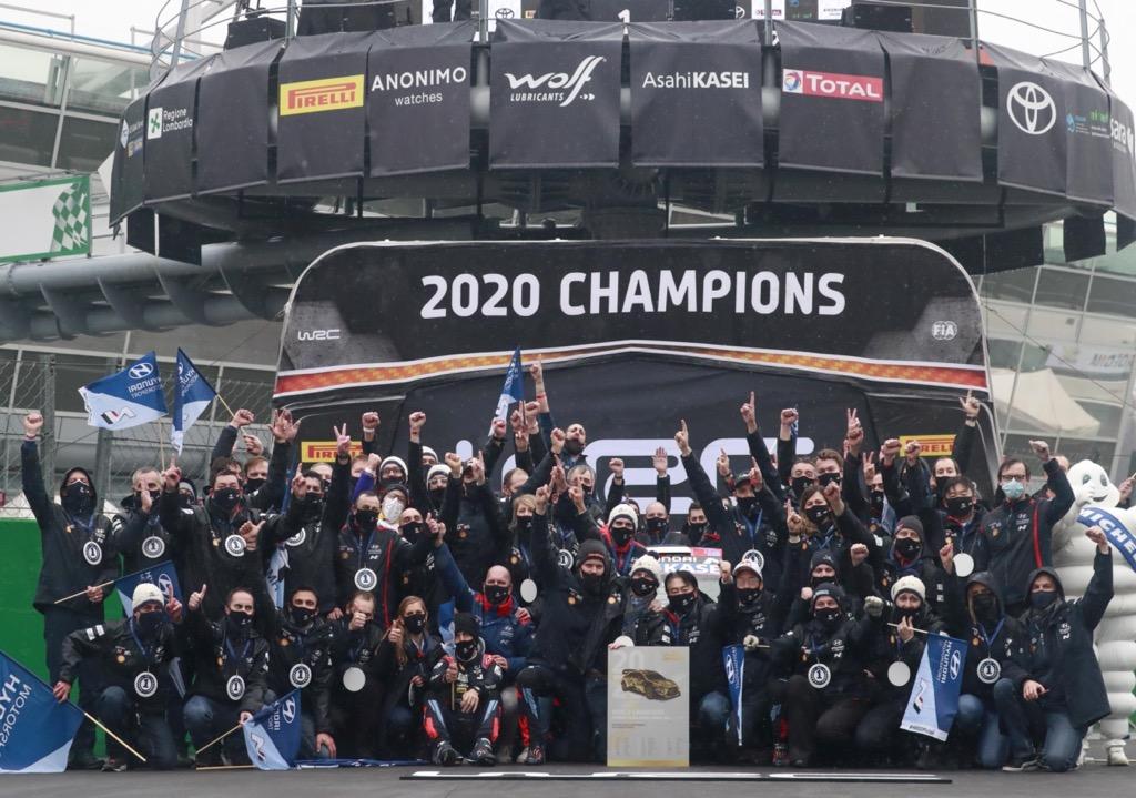 Hyundai Motorsport 2020 Manufacturers World Rally Champions