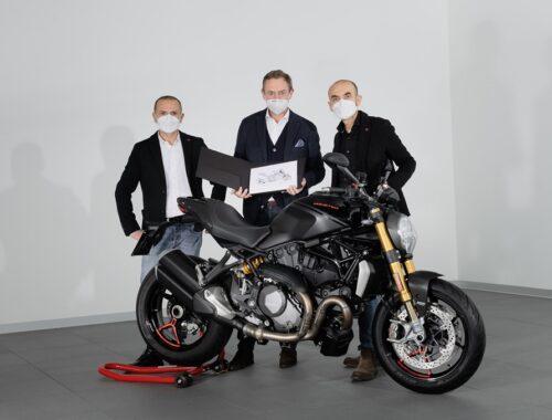 Η Ducati Monster συμπλήρωσε 350.000 πωλήσεις