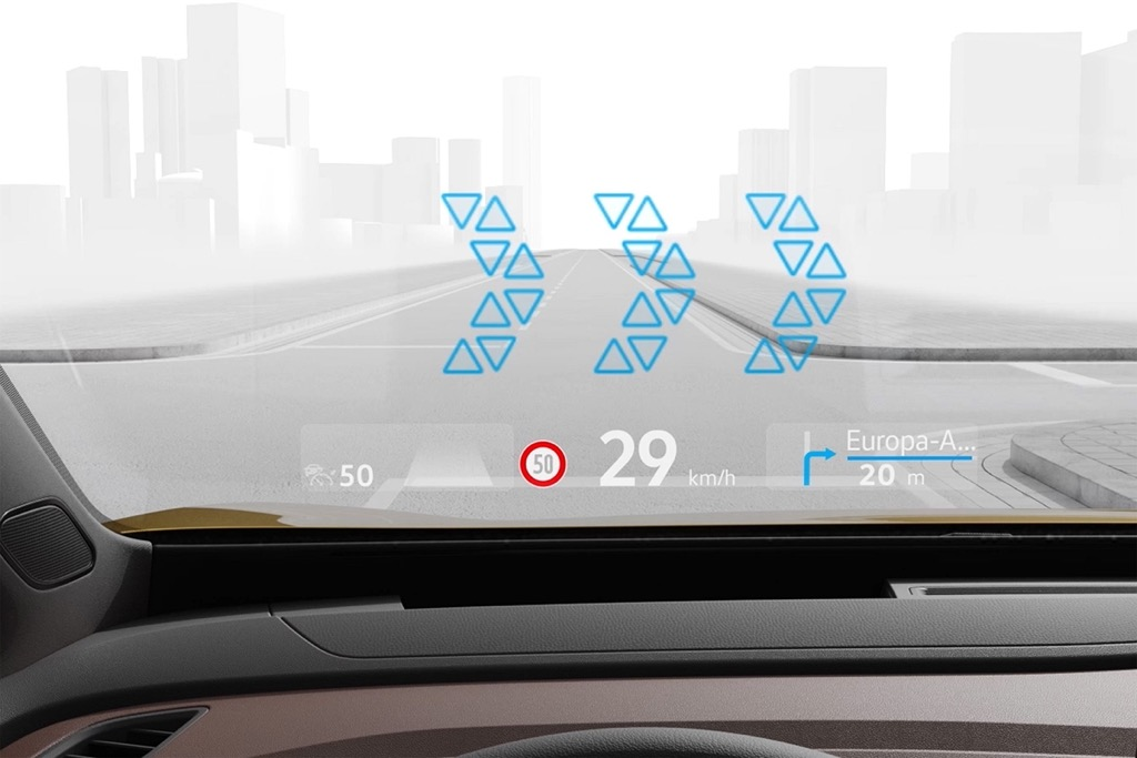 Head-up display augmented reality
