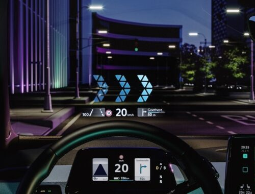 Head-up display επαυξημένης πραγματικότητας