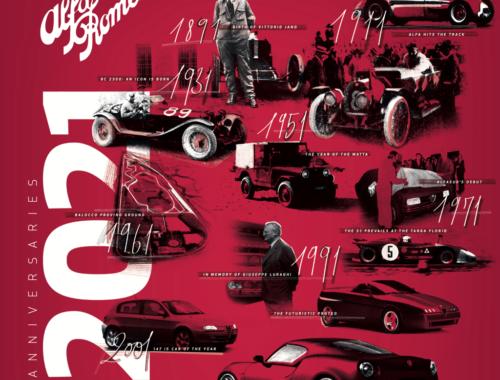 Alfa Romeo Calendar 2021