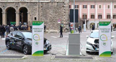 Συνεργασία της Nissan με την πόλη του Τέρνι