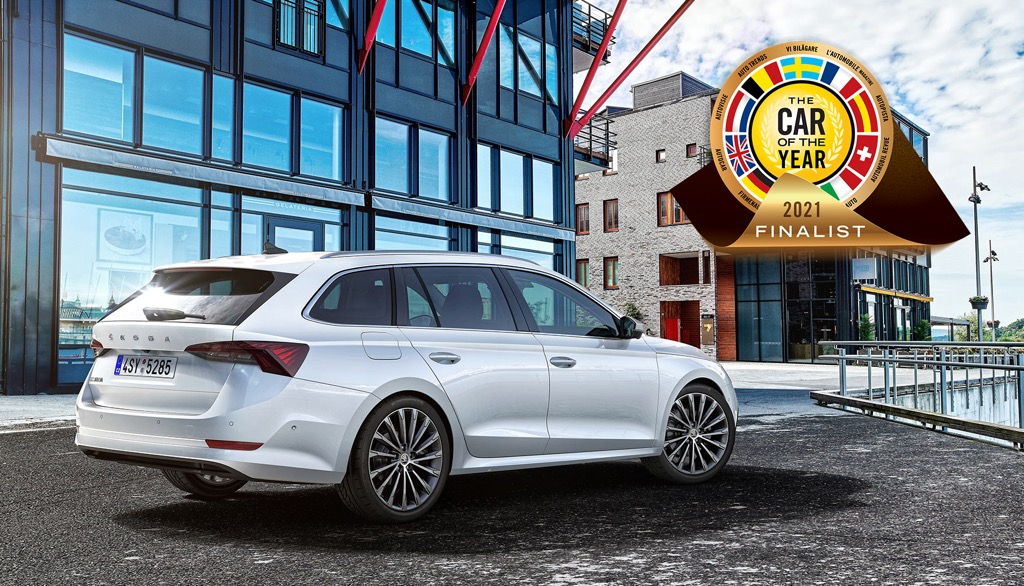 Octavia Car of the Year 2021 finalist
