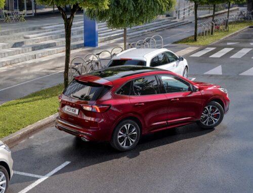 Το νέο Ford Kuga παρέχει την απόλυτη ασφάλεια
