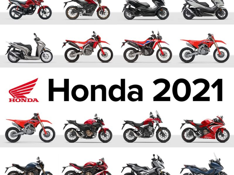 Honda moto 2021