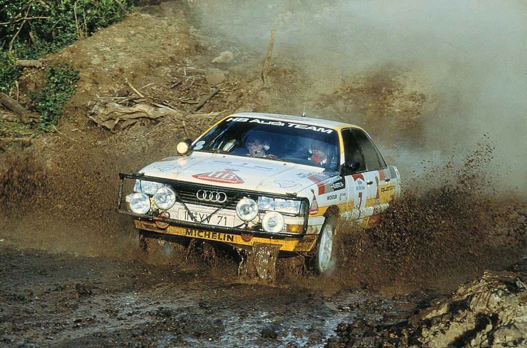 Hannu Mikkola - Audi Quattro
