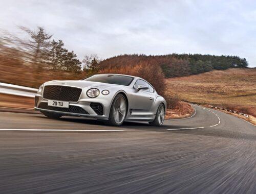 Νέα Bentley Continental GT Speed