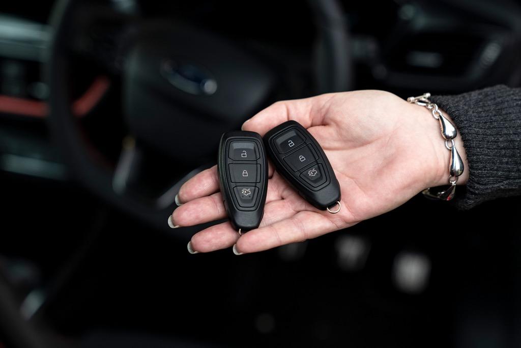 Προηγμένη τεχνολογία κλειδιού από τη Ford