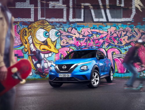 Φωτογραφίζοντας το Nissan Juke