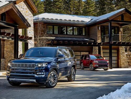 Νέα Jeep Wagoneer και Grand Wagoneer