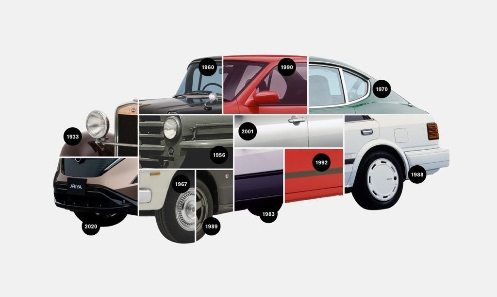Nissan - collage