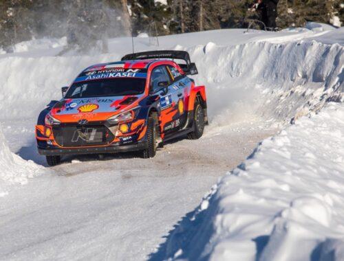Διπλή νίκη για την Hyundai στο Arctic Rally Finland