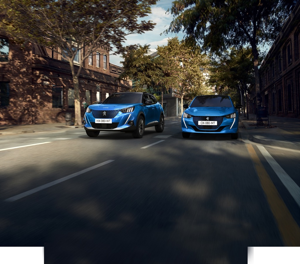 Peugeot 208 and 2008