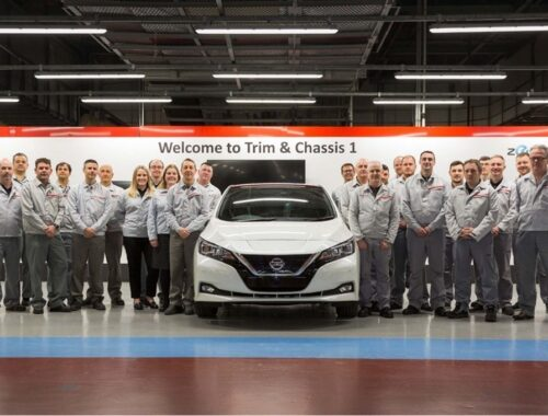 Το Nissan LEAF κέρδισε το Bluebird