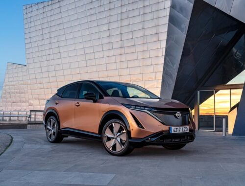 Η Nissan παρουσιάζει τα χρώματα του Ariya