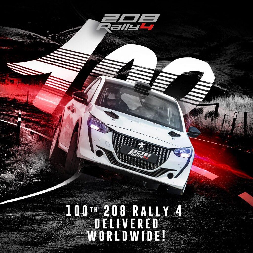 PEUGEOT 208 Rally4