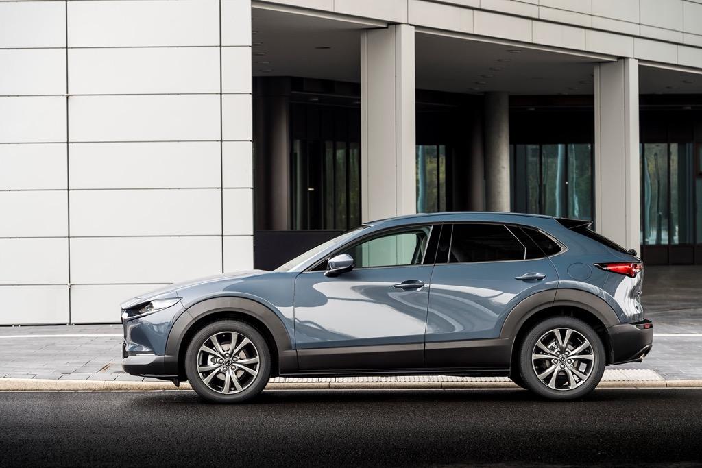 Mazda CX-30 Polymental Grey Static