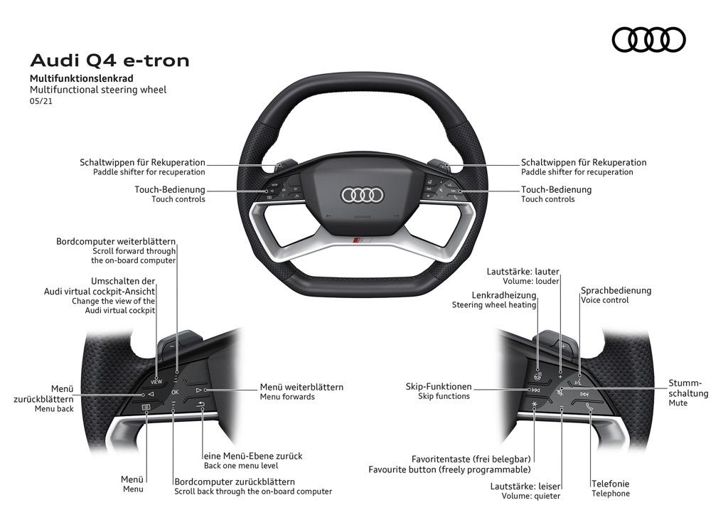 Audi Q4 e-tron - steering expert