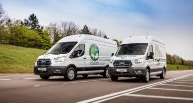 Πρόγραμμα δοκιμών για το E-Transit Van