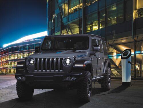 Jeep Wrangler 4xe Plug-in Hybrid