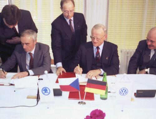 30 χρόνια SKODA AUTO στο Volkswagen Group