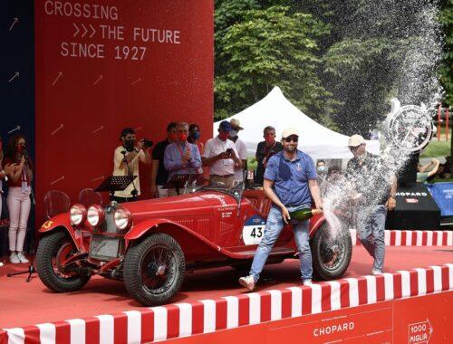 Νίκη της Alfa Romeo στο 1000 Miglia 2021