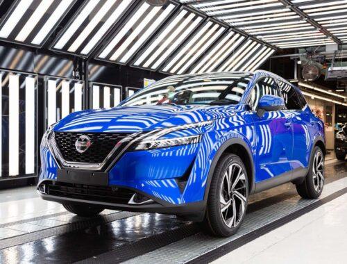 Η Nissan ξεκινά την παραγωγή του νέου Qashqai