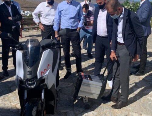 Το SEAT MÓ eScooter 125 στην Αστυπάλαια