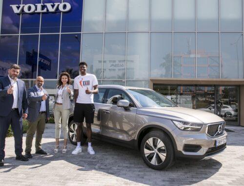 Συνεργασία Volvo Saracakis με Κώστα Αντετοκούνμπο
