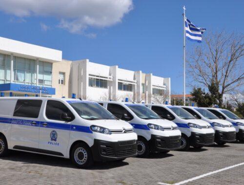 Τριάντα δύο νέα περιπολικά στην υπηρεσία της ΕΛ.ΑΣ