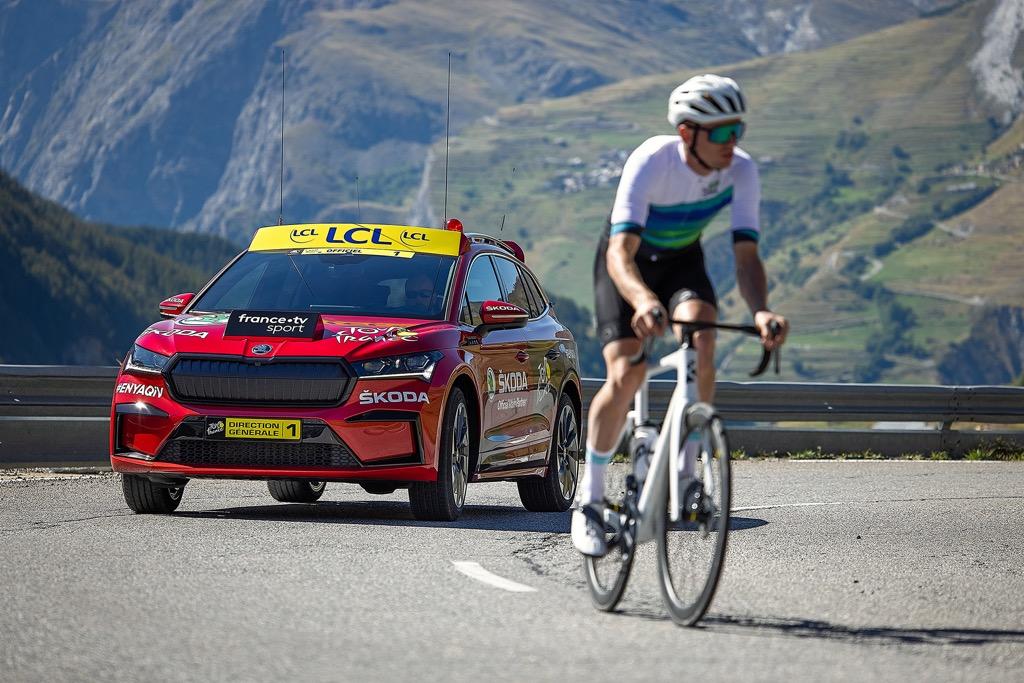 Η SKODA ήταν παρούσα στο Tour de France 2021