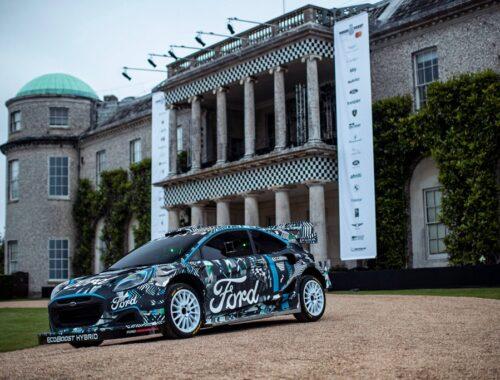 Ford Puma Rally1 WRC Prototype