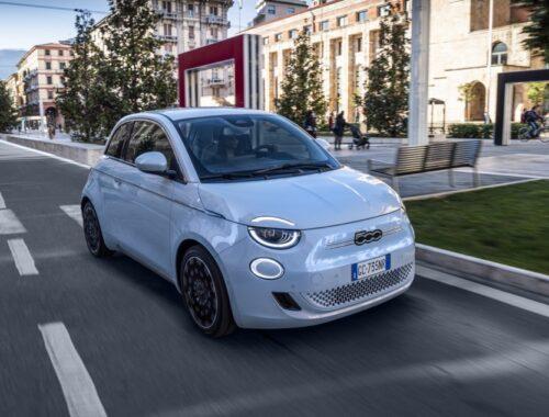 Νέα διάκριση για το ηλεκτρικό Fiat 500
