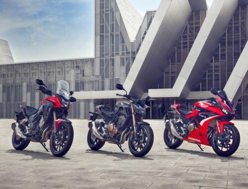 Η Honda ανανεώνει τρεις δημοφιλείς μοτοσυκλέτες